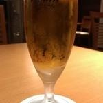 43724339 - グラスビール(412円)