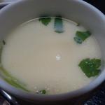 やまに郷作 - 茶わん蒸し(どぶ汁定食)