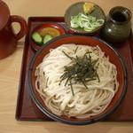 寝覚屋半兵衛 - 麦切り 670円 + 大盛り110円