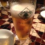 Barutacchomo - まずはビールから