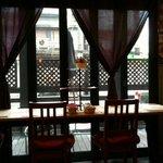 カフェ リディアン - 窓側の席