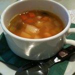 カフェ リディアン - ミネストローネ(+200円のセットスープ)