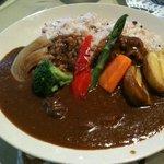 カフェ リディアン - 函南ファームの野菜カレー