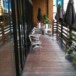 カフェ リディアン - テラス席
