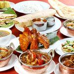 南インド料理ダクシン - 料理写真:ダクシンのお勧め人気料理コース(15品)