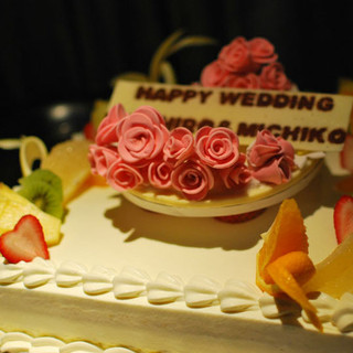 ケーキはオーダー可能です!