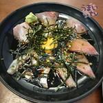 なみ - 「なみ漬け丼」 ご飯セット付き 1,250円