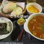オーガニックスープ・コロンボ - ころんぼset (680円)