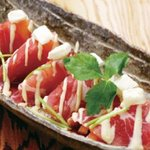 4374971 - 生ハムとトマトのチーズカルパッチョ