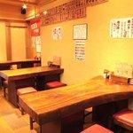 焼鳥 義晴 - テーブル席は最大15名様まで予約OK!!