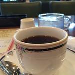 ボンテ - おかわり自由のホットコーヒー