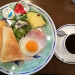 ボンテ - トーストセット500円