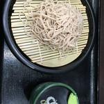 峠の蕎麦 - もりそば(300円)