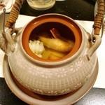 びわこ緑水亭 - 土瓶蒸し(≧∇≦)