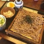 ほっとして ざわ - 山賊せいろ蕎麦 久しぶりに信州の蕎麦を美味しく味わってます(๑˃̵ᴗ˂̵)و