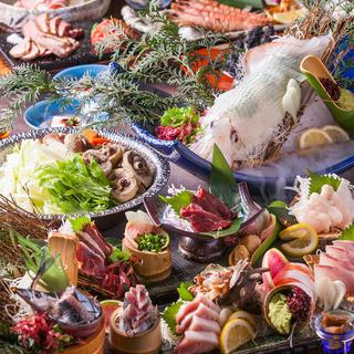 値段以上のものが味わえるコース料理は、ご宴会・ご接待に