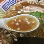 ちばき屋 - スープ
