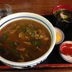 力餅食堂 - H.27.10.28.昼 カレー丼 680円