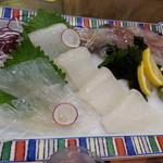 大八寿司 - 活いか造り