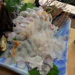 大八寿司 - かぼすひらめ造り
