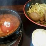 43764672 - スペシャルトマトつけ麺(中)