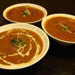 ネパール・インド料理 RaRa - ネパールカレー2種、シーフードカレー