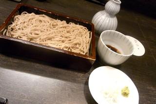 蕪村居 - 野菜天ざるの十割蕎麦(\1,300)