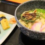 ファミリーレストラン タイニー - うどん寿司セット