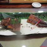 川喜 - うなぎ長焼き膳3240円(税込)