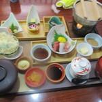 川喜 - 昼遊膳1440円(税込)