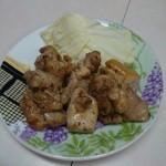霧島の豚鳥店 - あみ焼き 若鶏モモ