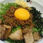 麺屋こころ - 肉入り台湾まぜそば  アップ