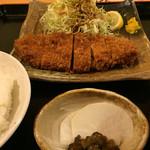 43795956 - ロースカツ定食896円