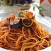 """すぺっついえ - 料理写真:蛸と揚げ茄子のトマトソース""""ミンティア"""""""