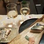 43796604 - 特選鯖寿司(半身)税込1,550円