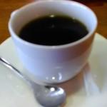 かにかにKAN魚粋 - サービスでコーヒー