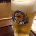 串八 - セットの生ビール