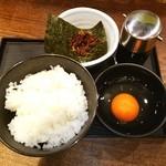 鶏そば十番156 - T❤K❤G❤玉子かけごはん❤ ♪o((〃∇〃o))((o〃∇〃))o♪