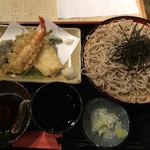 やぶ久 - ランチ 天ぷら蕎麦