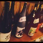 茶花〜chaihana〜 - 焼酎、日本酒、ワイン、カクテルと揃えてあります。