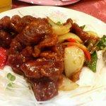 chuugokuryourinanen - 豚肉の特製ソース炒め