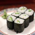 市場 いちばん寿司 - かっぱ巻き