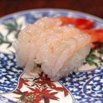 市場 いちばん寿司 - 甘エビ