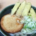 おべんとうのヒライ - 料理写真:丸天ごぼ天うどん(≧∇≦)