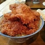 大吉三 - カツ丼 カツ3枚