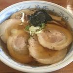 旬麺 - 焼き干し、チャーシュートッピング