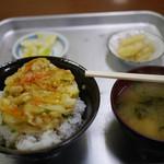 市場食堂 - 料理写真:かき揚げ丼~☆