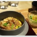 立田野茶寮 - 鶏釜飯