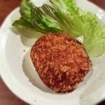 かぶら屋 - メンチカツ120円(税別)