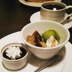 グリーンハウス - アフタヌーンティーのわらび餅